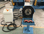 Long Tube Rotary Welding Positioner With Movable Roller Stand Vertical Control Box
